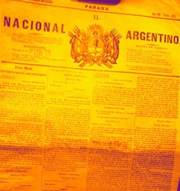 Al servicio de la Confederación: los editoriales del diario <em> El Nacional Argentino</em> de Paraná durante el año 1854